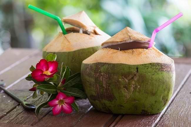 Manfaat Air Kelapa Dibandingkan Minuman Lain