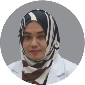 dr. Muslimah Luhuna, Sp.PD