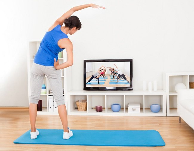 Image result for senam aerobik di rumah