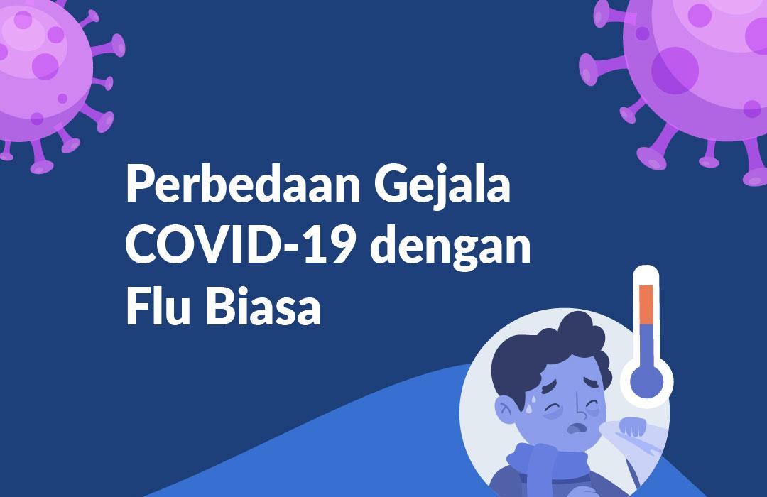 Beda Flu dan COVID-19