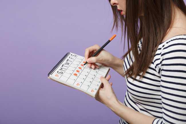 อาการคนท้องระยะแรกหรือประจำเดือนใกล้จะมา