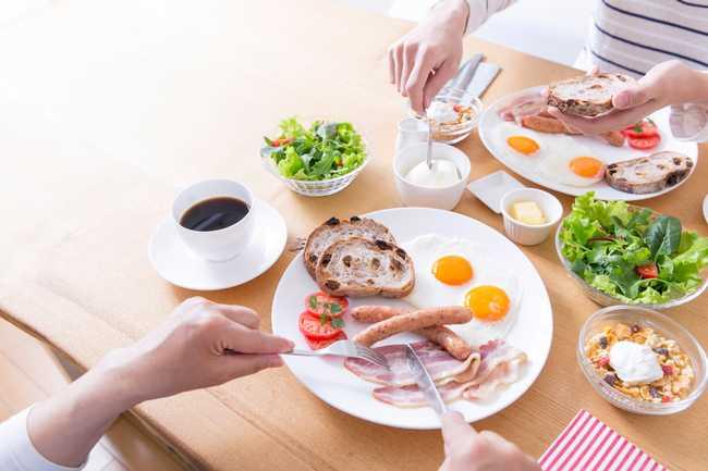 เมนูอาหารเช้า