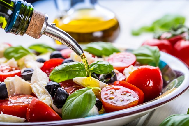Mediterranean diet อาหารสไตล์ชายฝั่งทะเลเพื่อสุขภาพหัวใจและการลดน้ำหนัก
