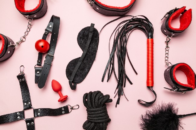 Set,Of,Erotic,Toys,For,Bdsm.,The,Game,Of,Sexual