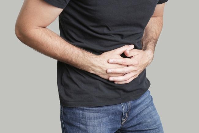 Man,Having,Painful,Stomach,Ache,,Chronic,Gastritis,Or,Abdomen,Bloating