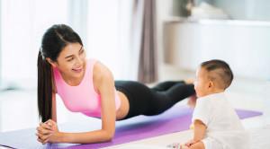 ออกกำลังกายหลังคลอดอย่างปลอดภัยได้สุขภาพ