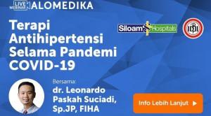 Live Webinar: Terapi Antihipertensi Selama Pandemi COVID-19