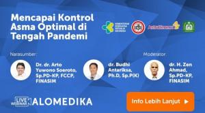 Live Webinar: Mencapai Kontrol Asma Optimal di Tengah Pandemi