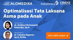 Live Webinar: Optimalisasi Tata Laksana Asma pada Anak
