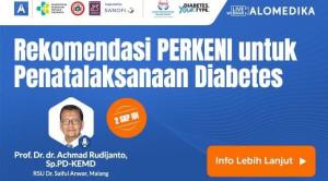 Live Webinar: Rekomendasi PERKENI untuk Penatalaksanaan Diabetes