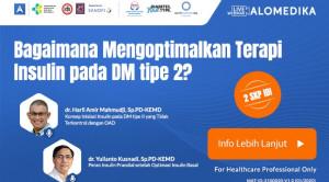 Live Webinar: Bagaimana Mengoptimalkan Terapi Insulin pada DM tipe 2?