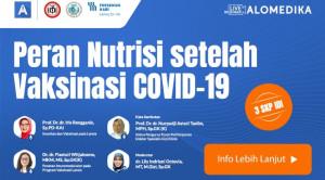 Live Webinar: Peran Nutrisi setelah Vaksinasi COVID-19