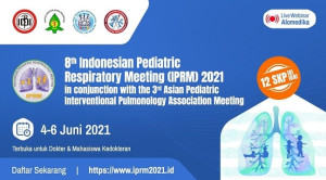 Virtual Event: The 8th Indonesian Pediatric Respiratory Meeting (IPRM) in conjunction with The 3rd Asian Pediatric Interventional Pulmonology Association (APIPA) Meeting
