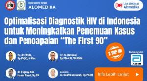 """Live Webinar: Optimalisasi Diagnostik HIV di Indonesia untuk Meningkatkan Penemuan Kasus dan Pencapaian """"The First 90"""""""