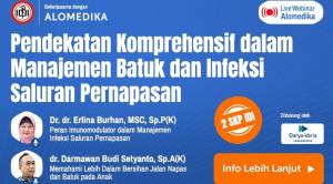 Live Webinar: Pendekatan Komprehensif dalam Manajemen Batuk dan Infeksi Saluran Pernapasan