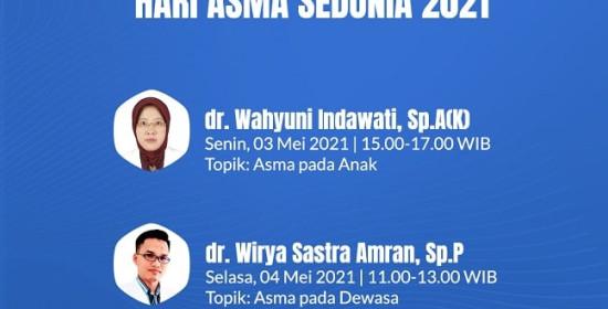 Ask The Expert Hari Asma Sedunia 2021