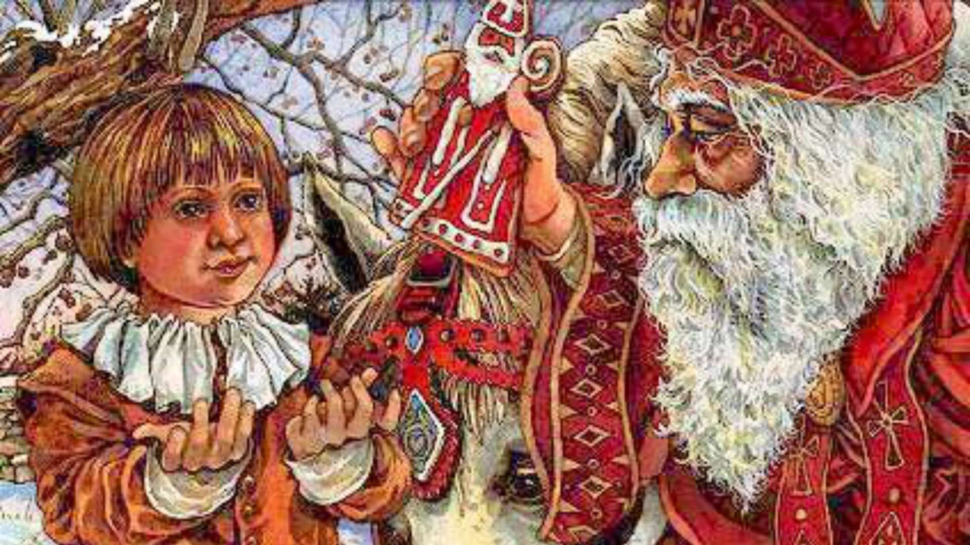 From Saint Nicholas to Santa Claus