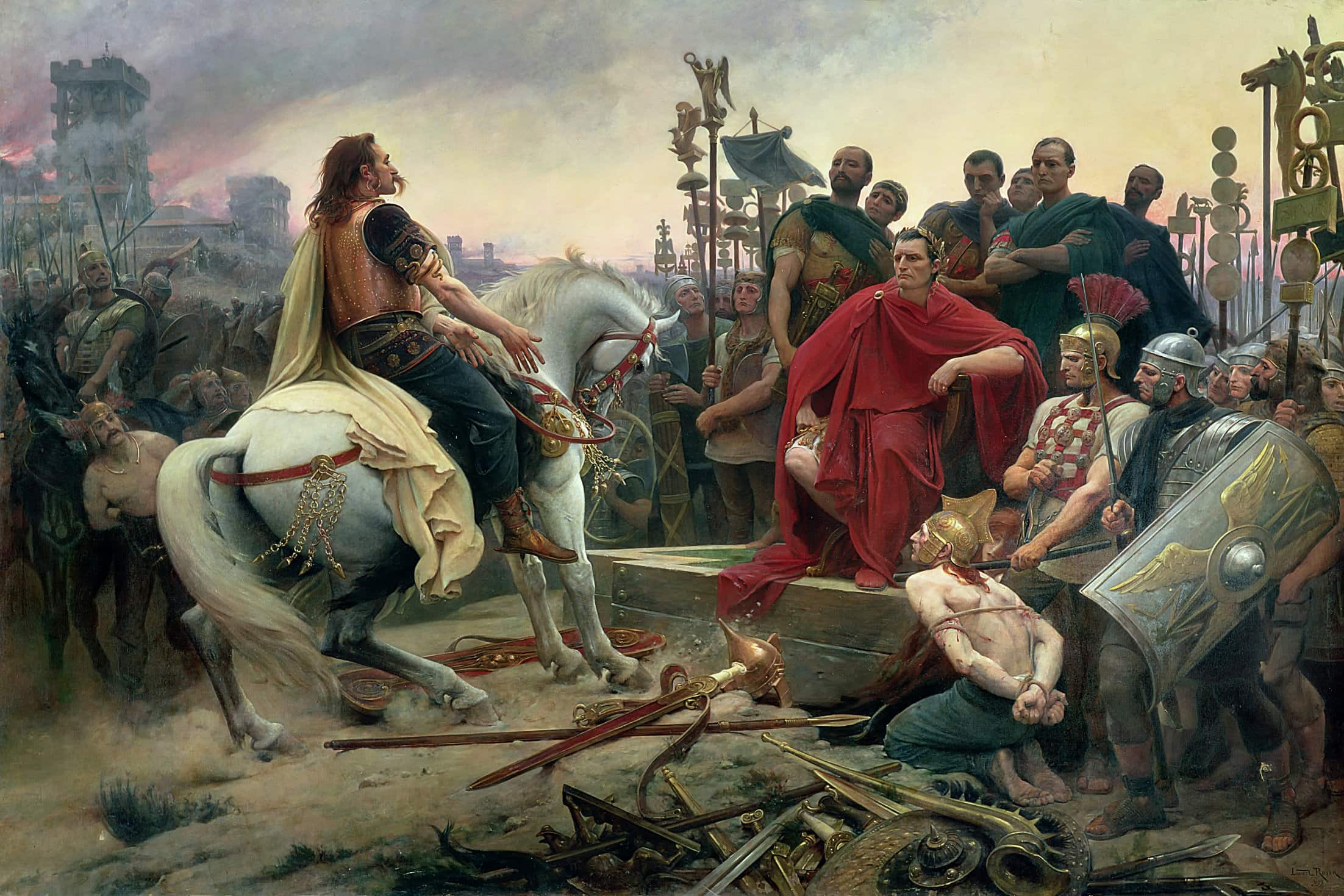 The Gallic Wars Pt3 - Roman victory at Alesia