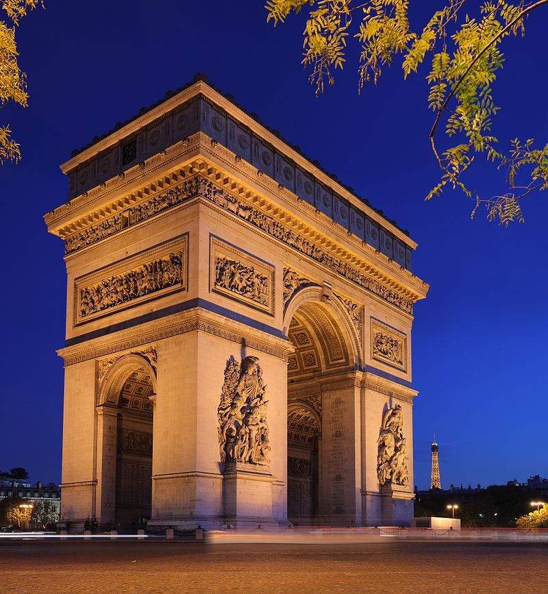 Major Trimphal Archs around the world