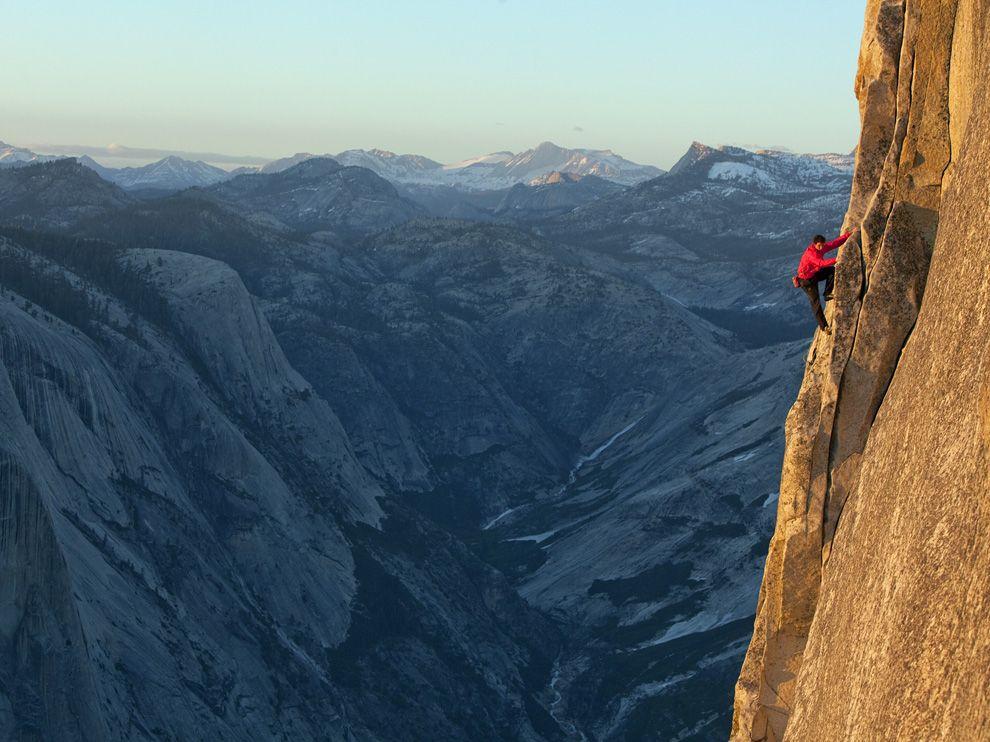 Climbing the Yosemite