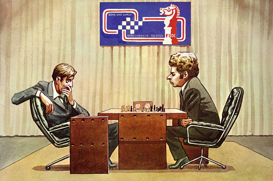 Fischer vs Spassky - The Game of the Century
