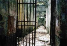 The penal colony in French Guyana