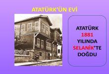 Atatürk 1881 yılında doğdu