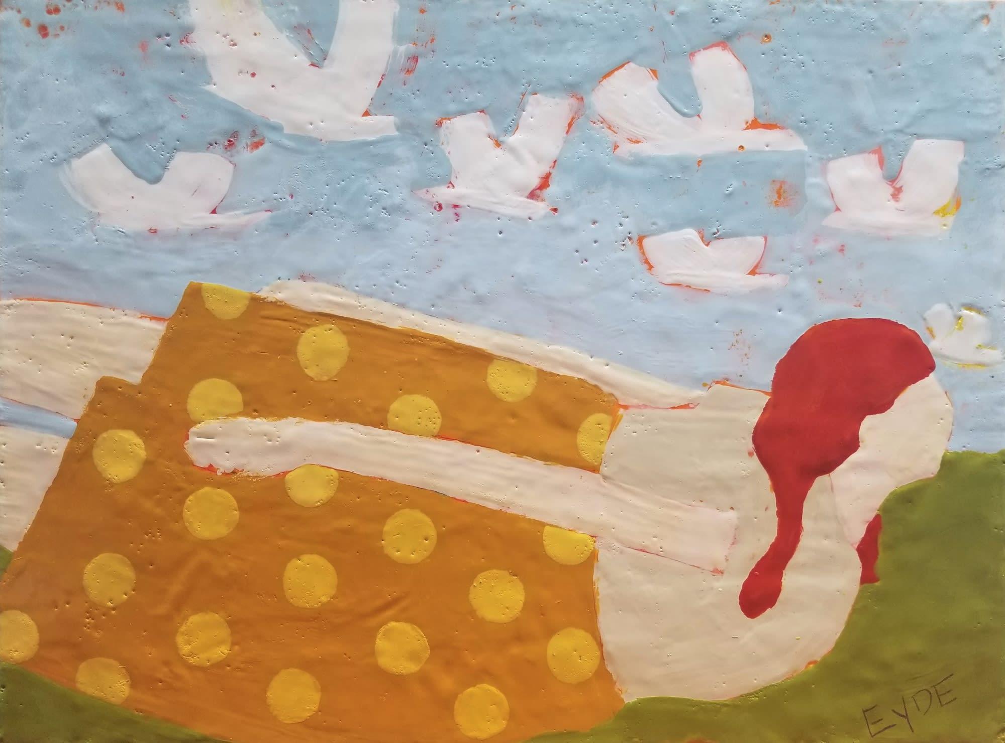 'Flying Girl' by Deborah Eyde at Gallery 133