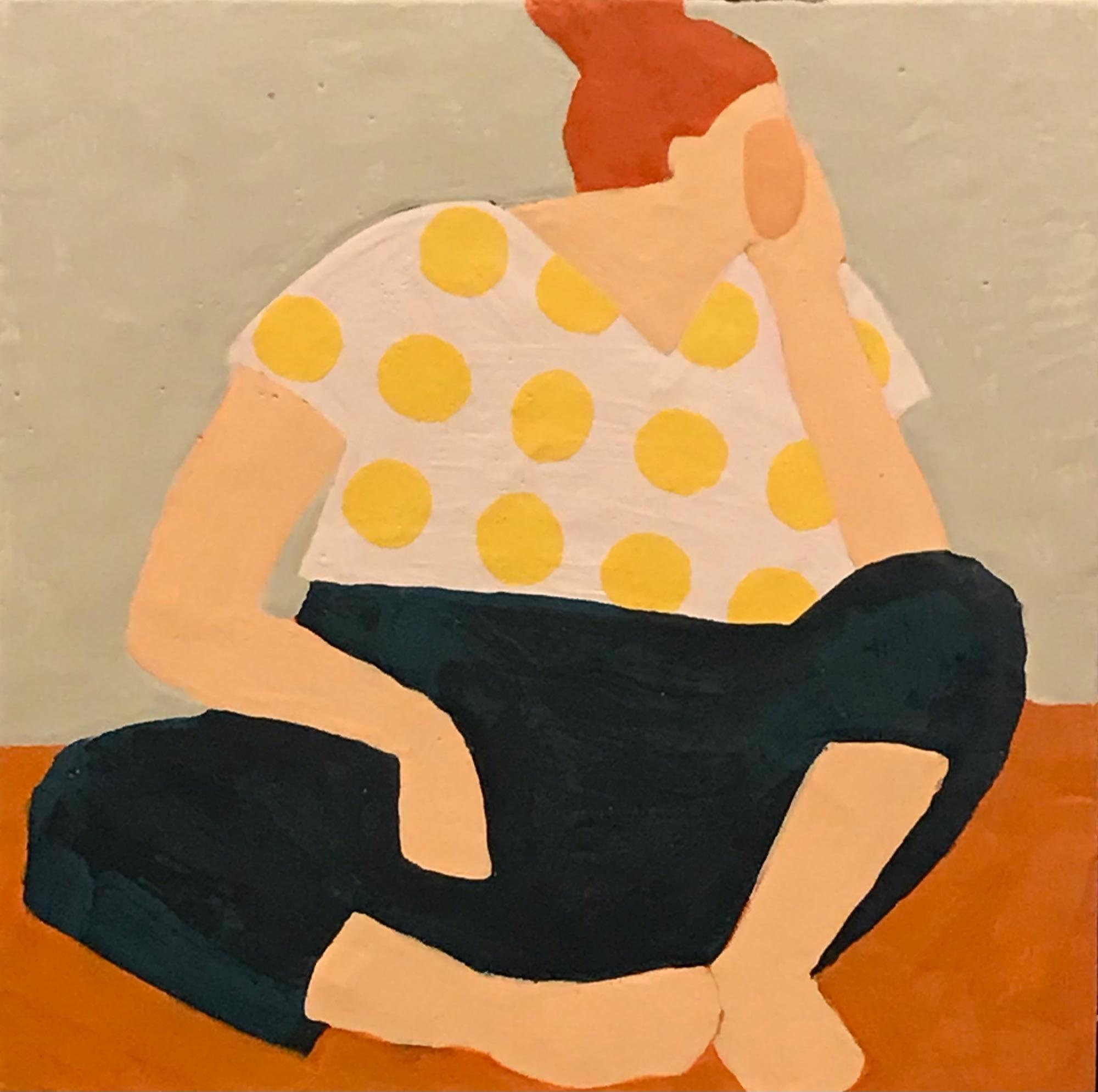 'Active Listener' by Deborah Eyde at Gallery 133