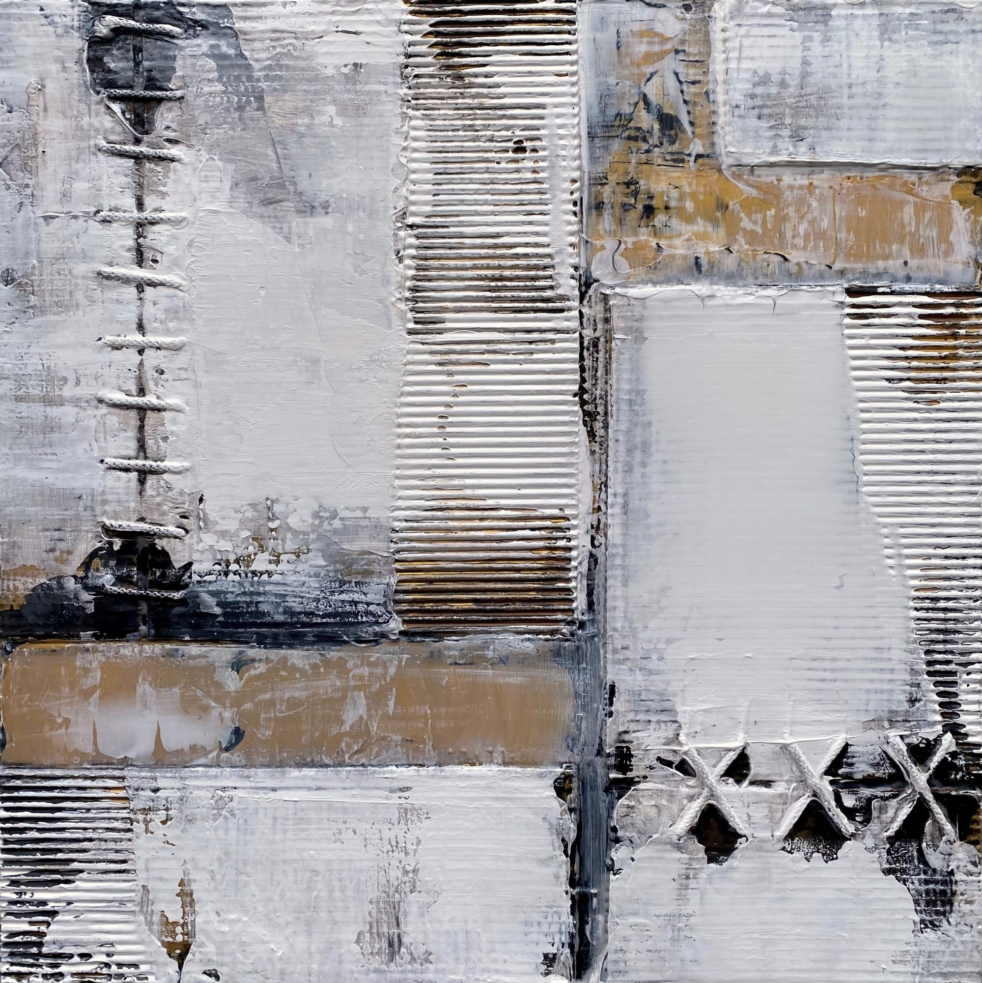 'Gold and Zinc' by Nick Young at Gallery 133