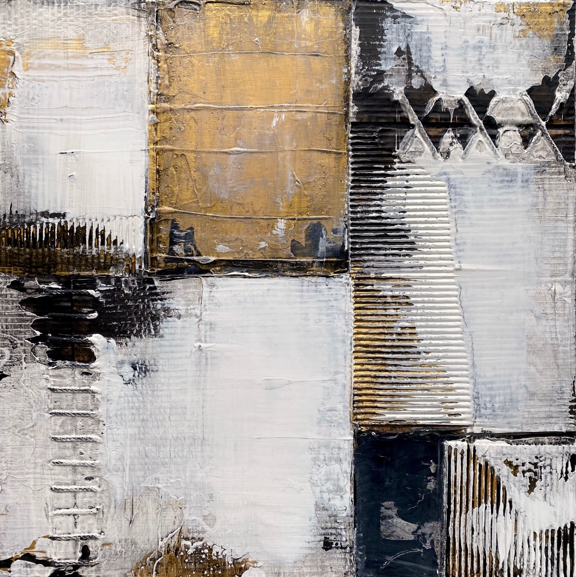 'Gold and Onyx' by Nick Young at Gallery 133