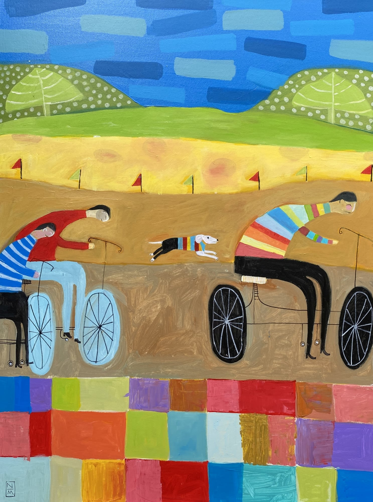 'The Race' by Nathaniel Mather at Gallery 133