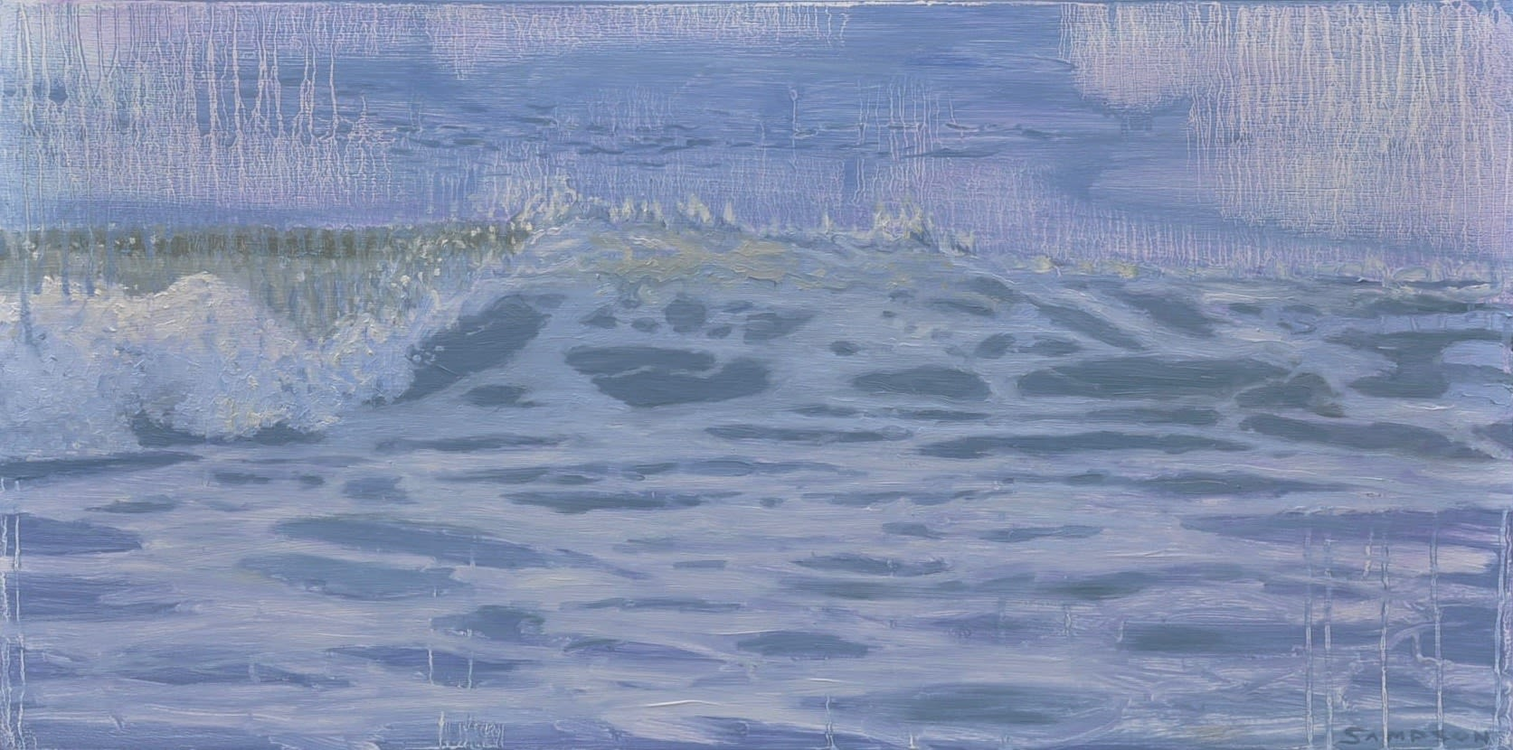 'Beach Break' by Joe Sampson at Gallery 133