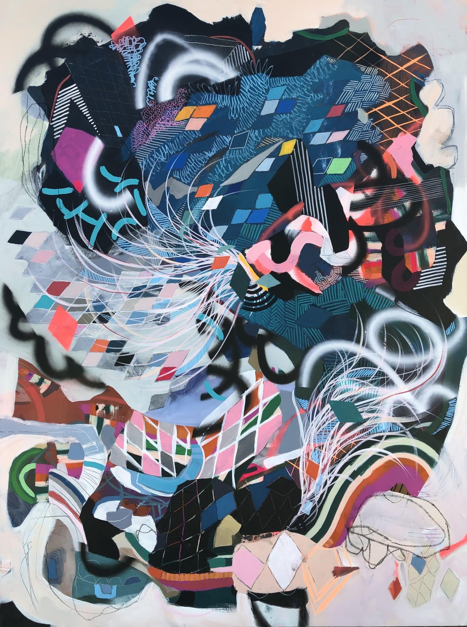 'Tricky Voices' by Christina Sorace MacKinnon at Gallery 133