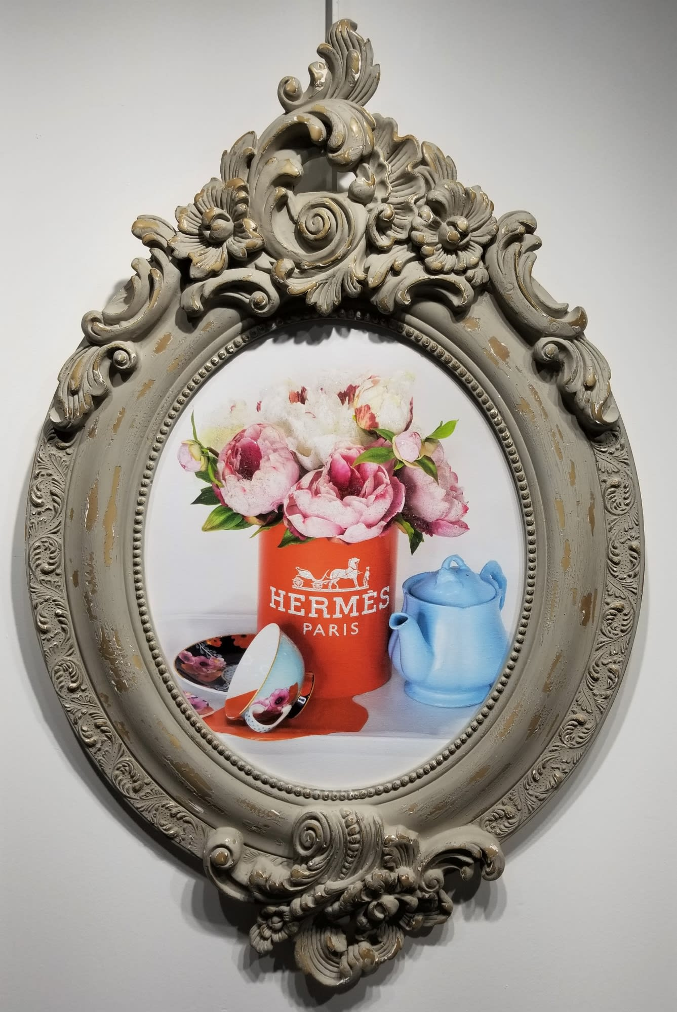 'Hermes Tea Party' by James Manderville at Gallery 133