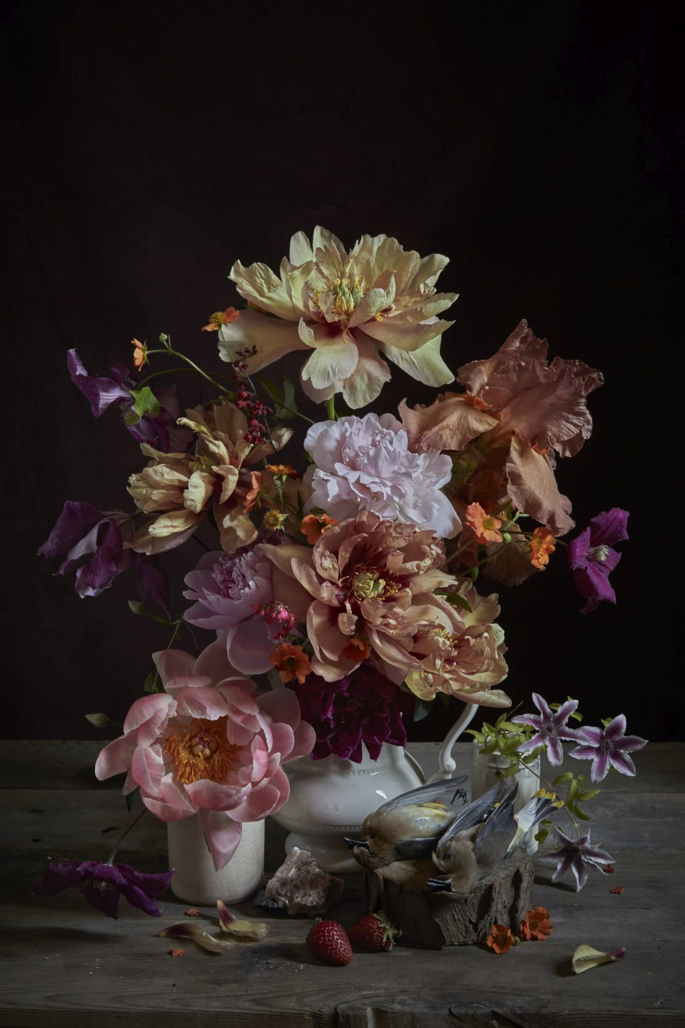 'Peony & Cedar Waxings' by Kristin Sjaarda at Gallery 133