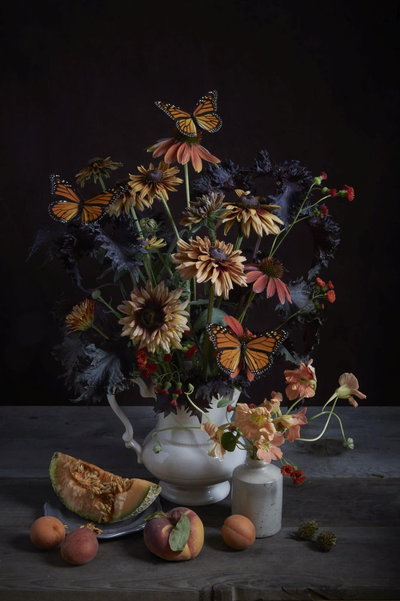 'Monarch & Rudbeckia' by Kristin Sjaarda at Gallery 133