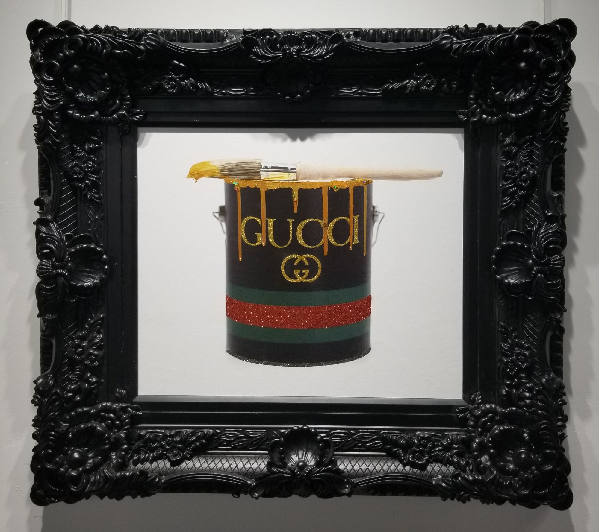 'Gucci Paint Can' by James Manderville at Gallery 133