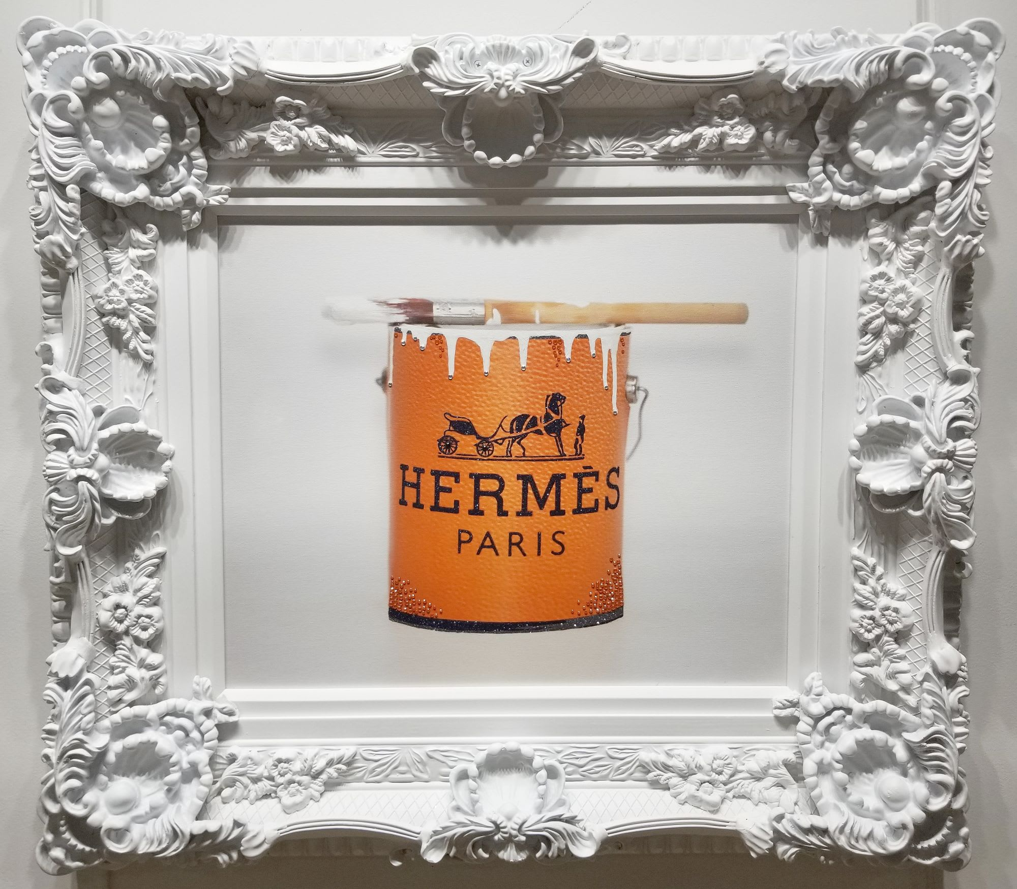 'Hermes Paint Can' by James Manderville at Gallery 133