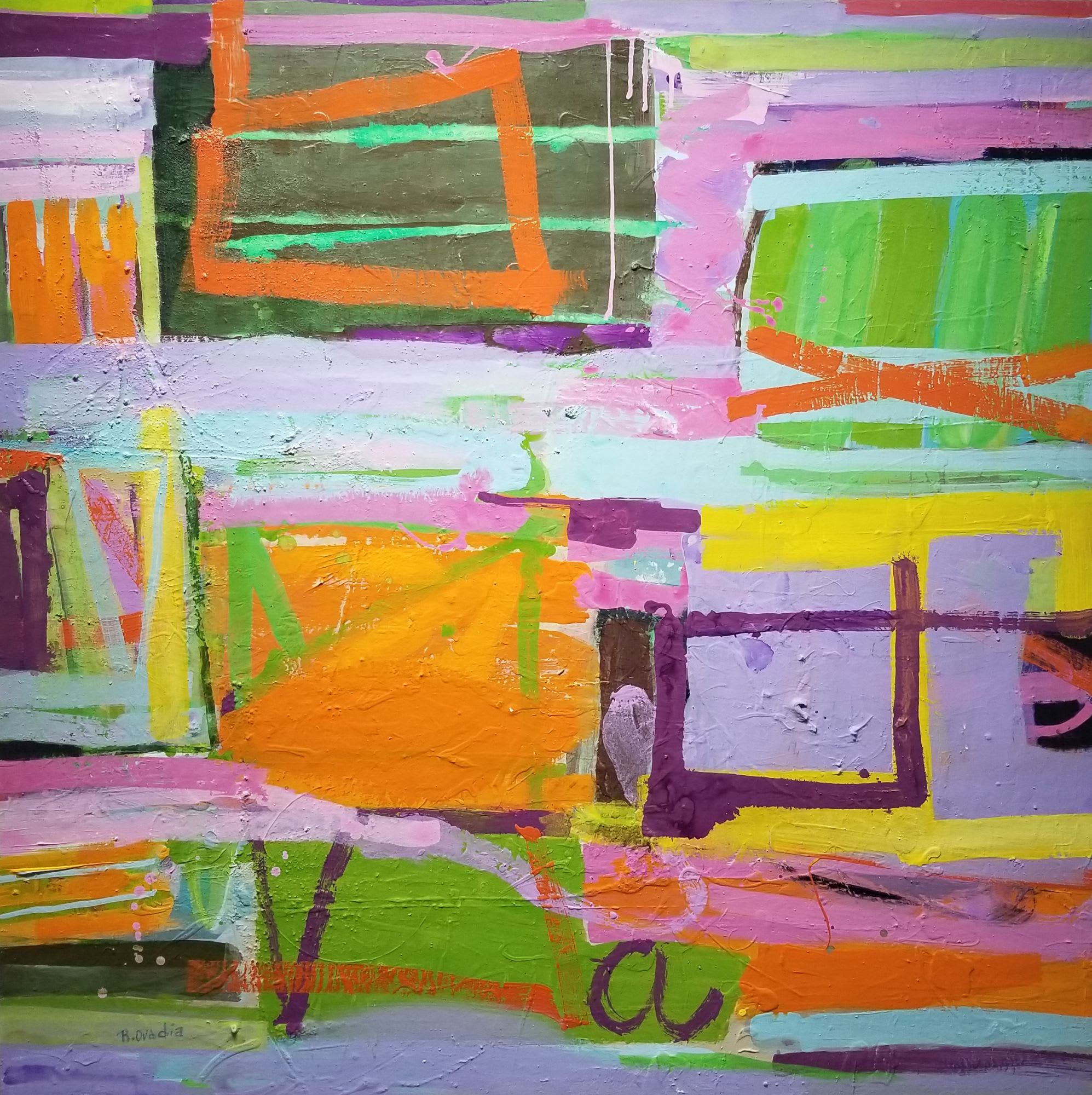 'Crossing The Bridge II' by Rachel Ovadia at Gallery 133