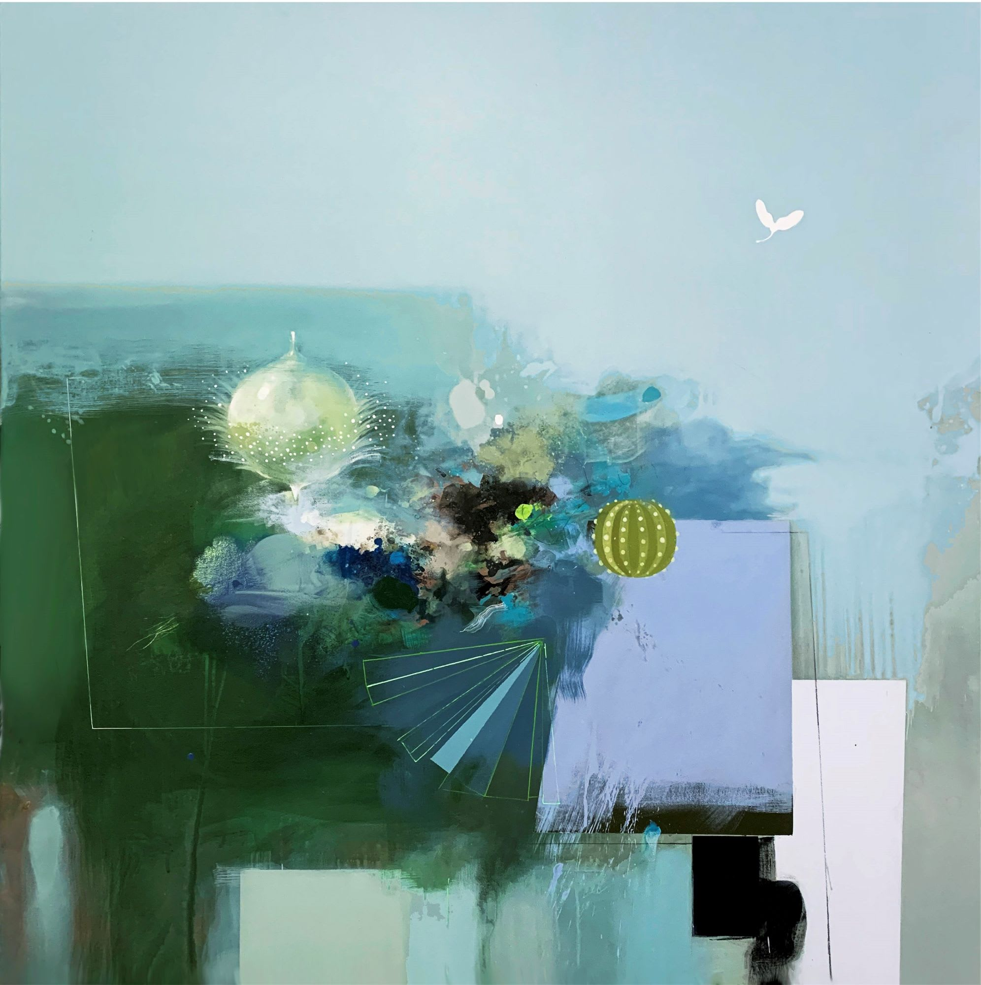 'Suspended Silence' by Raluca Pilatat Gallery 133