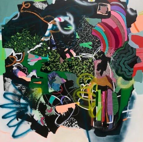 'Mantra Check' by Christina Sorace MacKinnon at Gallery 133