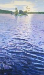 'Lake Light' by Joe Sampson at Gallery 133