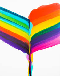 'Coming Out Rainbows' by Brooke Palmer Gallery 133