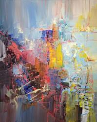 'J. Brahms, Strings Quartet No 3' by Ernestine Tahedl at Gallery 133