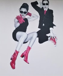 'She Less Heavy For Lovers' by Pedro Bonnin at Gallery 133