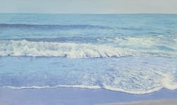 'Sparkling Shore' by joe Sampson at Gallery 133