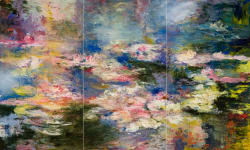 'Anemnesis of a Pond' by Ernestine Tahedl at Gallery 133