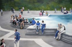 'The Fountain' by Maria Carbonell t Gallery 133