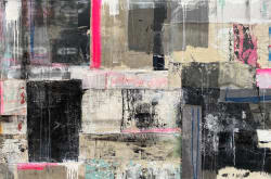 'Urban Textile' by Nick Young at Gallery 133